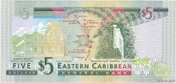 5 Dollars CARAÏBES  2008 P.47a NEUF