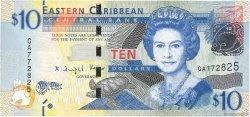 10 Dollars CARAÏBES  2016 P.New NEUF