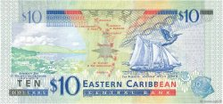 10 Dollars EAST CARIBBEAN STATES  2016 P.New FDC