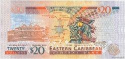 20 Dollars CARAÏBES  2012 P.53 NEUF