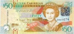 50 Dollars CARAÏBES  2012 P.54 NEUF