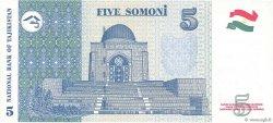 5 Somoni TADJIKISTAN  1999 P.15c NEUF