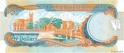 50 Dollars BARBADE  2007 P.70a pr.NEUF