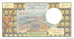 5000 Francs DJIBOUTI  1979 P.38a SPL