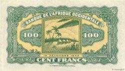 100 Francs AFRIQUE OCCIDENTALE FRANÇAISE (1895-1958)  1942 P.31a SPL