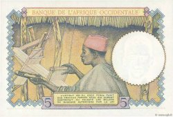 5 Francs type 1934 AFRIQUE OCCIDENTALE FRANÇAISE (1895-1958)  1939 P.21 NEUF