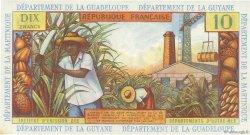 10 Francs type 1962 modifié 1964 ANTILLES FRANÇAISES  1964 P.08b pr.NEUF