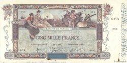 5000 Francs FLAMENG FRANCE  1918 F.43.01 TTB