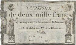 2000 Francs FRANCE  1795 Ass.51a