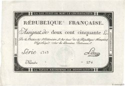 250 Livres FRANCE  1793 Ass.45a SPL