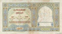 1000 Francs type 1921 MAROC  1946 P.16c TTB