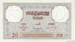 20 Francs MAROC  1945 P.18b SUP