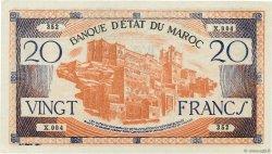 20 Francs type 1943 MAROC  1943 P.39 SPL+