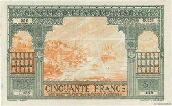 50 Francs type 1943 Casablanca. MAROC  1943 P.40 SUP+