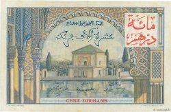 10000 Francs / 100 Dirhams MAROC  1955 P.52 SPL