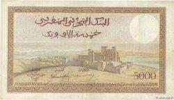 5000 Francs type 1937 MAROC  1950 P.23c pr.TTB