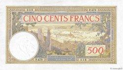 500 Francs type 1923 modifié 1946 MAROC  1948 P.15b SUP