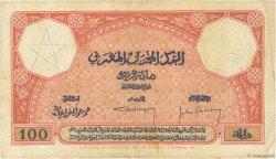 100 Francs 1920 MAROC  1926 P.14 TB