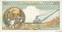 50 Dirhams MAROC  1965 P.55a TTB+