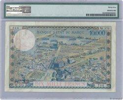 10000 Francs / 100 Dirhams MAROC  1955 P.52 SUP
