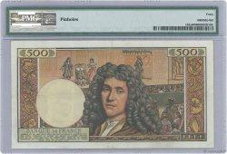 500 Nouveaux Francs MOLIÈRE FRANCE  1961 F.60.03 TTB