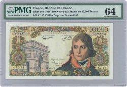10000 Francs BONAPARTE FRANCE  1958 F.51.11 SPL