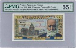 5 NF sur 500 Francs Victor HUGO FRANCE  1959 F.52.02 SUP+