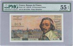 10 Nouveaux Francs RICHELIEU FRANCE  1961 F.57.16 SPL