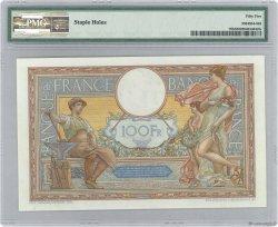 100 Francs LUC OLIVIER MERSON grands cartouches FRANCE  1930 F.24.09 pr.SPL