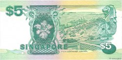 5 Dollars SINGAPOUR  1989 P.19 NEUF