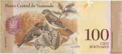 100 Bolivares VENEZUELA  2007 P.093a NEUF