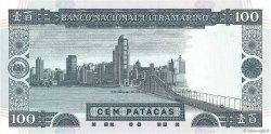 100 Patacas MACAO  1999 P.073a NEUF