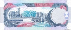 2 Dollars BARBADE  2007 P.66b pr.NEUF