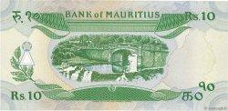 10 Rupees ÎLE MAURICE  1985 P.35b SPL