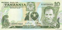 10 Shilingi TANZANIE  1978 P.06c SPL
