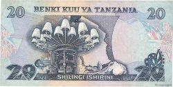 20 Shilingi TANZANIE  1978 P.07b TB+