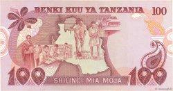 100 Shilingi TANZANIE  1977 P.08c TTB