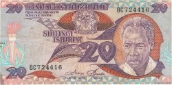 20 Shilingi TANZANIE  1985 P.09 TB