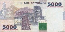 5000 Shilingi TANZANIE  2003 P.38 pr.TTB