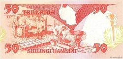 50 Shilingi TANZANIE  1986 P.16b SPL