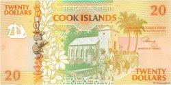 20 Dollars ÎLES COOK  1992 P.09a SPL