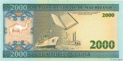 2000 Ouguiya MAURITANIE  2004 P.14a TTB