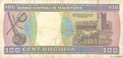 100 Ouguiya MAURITANIE  1993 P.04f TB