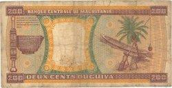 200 Ouguiya MAURITANIE  1974 P.05a B