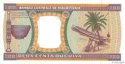 200 Ouguiya MAURITANIE  1995 P.05f SUP