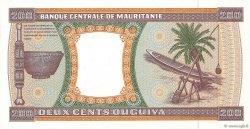 200 Ouguiya MAURITANIE  1996 P.05g pr.NEUF