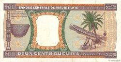 200 Ouguiya MAURITANIE  2001 P.05i TTB