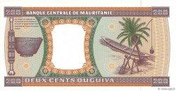 200 Ouguiya MAURITANIE  2001 P.05i pr.NEUF