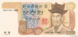 5000 Won CORÉE DU SUD  2002 P.51 NEUF