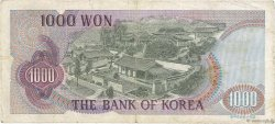 1000 Won CORÉE DU SUD  1975 P.44 TB